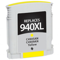 Hewlett Packard HP C4909AN / HP 940XL Yellow Replacement InkJet Cartridge