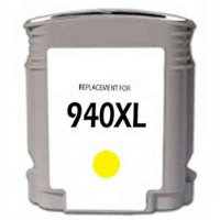 Hewlett Packard HP C4909AN (HP 940XL Yellow) Remanufactured InkJet Cartridge