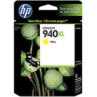 Hewlett Packard HP C4909AN (HP 940XL Yellow) InkJet Cartridge