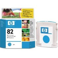 Hewlett Packard HP C4911A (HP 82 cyan) Inkjet Cartridge