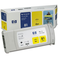 Hewlett Packard HP C4933A (HP 81) Yellow Dye Inkjet Cartridge