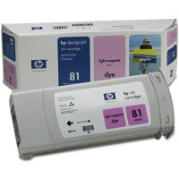Hewlett Packard HP C4935A (HP 81) Light Magenta Dye Inkjet Cartridge