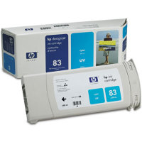 Hewlett Packard HP C4941A (HP 83) Cyan UV Inkjet Cartridge