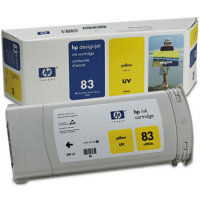 Hewlett Packard HP C4943A (HP 83) Yellow UV Inkjet Cartridge