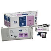 Hewlett Packard HP C5005A (HP 83) InkJet Cartridge / Printhead / Cleaner