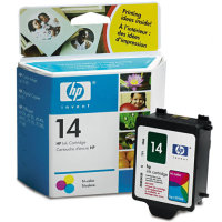 HP 14 Tri-Color OEM originales Cartucho de tinta