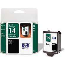 Hewlett Packard C5011DN (HP 14d Black) InkJet Cartridge