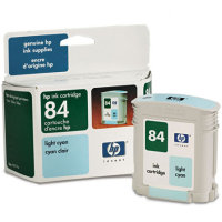 Hewlett Packard HP C5017A (HP 84) Light Cyan Inkjet Cartridge