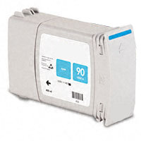 Hewlett Packard HP C5061A (HP 90 Cyan High Capacity) Remanufactured InkJet Cartridge