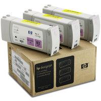 Hewlett Packard HP C5077A (HP 83) UV Ink Light Magenta InkJet Cartridge Multi-Pack (3 Pack of C4945A)