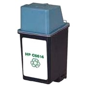 Hewlett Packard HP C6614A (HP 20) Professionally Remanufactured Black Inkjet Cartridge