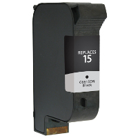 Remanufactured HP HP 15 (C6615A) Black Inkjet Cartridge (Made in North America; TAA Compliant)