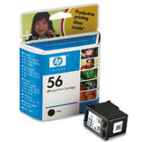 Hewlett Packard HP C6656AN / HP C6656A (HP 56) Black Inkjet Cartridge