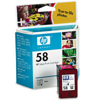 Hewlett Packard HP C6658AN (HP 58) Photo Color Inkjet Cartridge
