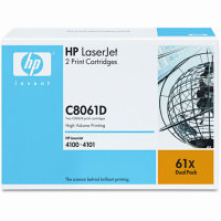 Hewlett Packard HP C8061D (HP 61X) Laser Toner Cartridges