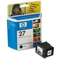 Hewlett Packard HP C8727AN / HP C8727A (HP 27) Black Inkjet Cartridges