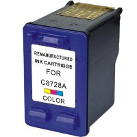 Hewlett Packard HP C8728AN / HP C8728A (HP 28) Professionally Remanufactured Tri-Color InkJet Cartridge