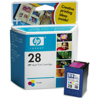 Hewlett Packard HP C8728AN / HP C8728A (HP 28) Tri-Color Inkjet Cartridges