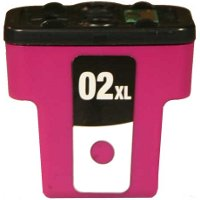 Hewlett Packard HP C8731WN (HP 02XL Magenta) Remanufactured InkJet Cartridge