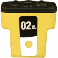 Hewlett Packard HP C8732WN (HP 02XL Yellow) Remanufactured InkJet Cartridge