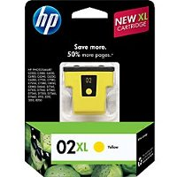 Hewlett Packard HP C8732WN / HP 02XL Yellow InkJet Cartridge
