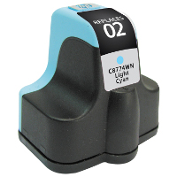 Hewlett Packard HP C8774WN / HP 02 Light Cyan Replacement InkJet Cartridge