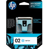Hewlett Packard HP C8774WN (HP 02 light cyan) InkJet Cartridge
