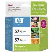 Hewlett Packard HP C9320FN (HP 57 Twinpack) InkJet Cartridge Twin Pack