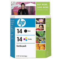 Hewlett Packard HP C9337FN (HP 14) InkJet Cartridge Combo Pack