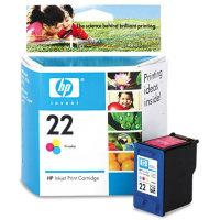 HP 22 OEM originales Cartucho de tinta