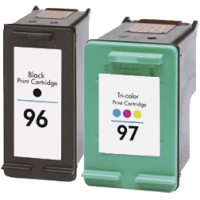 Hewlett Packard HP C9353FN ( HP 96/97 ) Remanufactured InkJet Cartridge Combo Pack