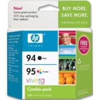Hewlett Packard HP C9354FN (HP 94/95) InkJet Cartridge Combo Pack
