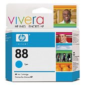 Hewlett Packard HP C9386AN (HP 88 cyan) InkJet Cartridge