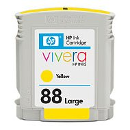 HP 88XL Yellow OEM originales Cartucho de tinta