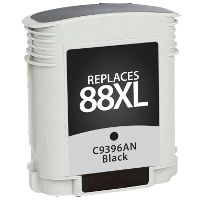 Hewlett Packard HP C9396AN / HP 88XL Black Replacement InkJet Cartridge