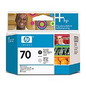 Hewlett Packard HP C9407A ( HP 70 Photo Black/Light Gray Printhead ) Printhead InkJet Cartridge