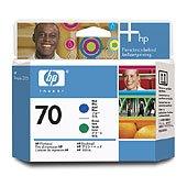 Hewlett Packard HP C9408A (HP 70 Blue/Green Printhead) Printhead InkJet Cartridge