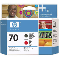 Hewlett Packard HP C9409A (HP 70 Matte Black/Red Printhead) Printhead InkJet Cartridge