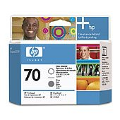 Hewlett Packard HP C9410A (HP 70 Gloss Enhancer/Gray Printhead) Printhead InkJet Cartridge