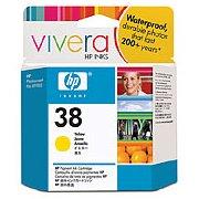 Hewlett Packard HP C9417A (HP 38 yellow) InkJet Print Cartridge