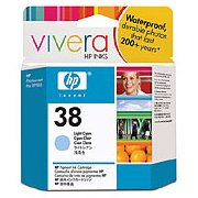 Hewlett Packard HP C9418A (HP 38 light cyan) InkJet Print Cartridge