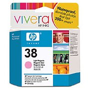 Hewlett Packard HP C9419A (HP 38 light magenta) InkJet Print Cartridge