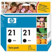 Hewlett Packard HP C9508FN (HP 21) InkJet Cartridge Twin Pack