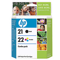 Hewlett Packard HP C9509FN (HP 21/22) InkJet Cartridge Combo Pack