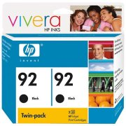 Hewlett Packard HP C9512FN (HP 92 Twinpack) InkJet Cartridge Twin Pack