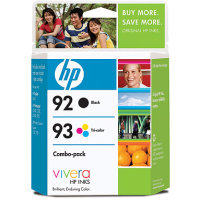Hewlett Packard HP C9513FN (HP 92/93) InkJet Cartridge Combo Pack