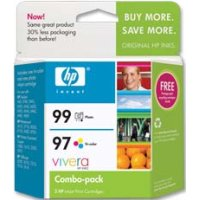 Hewlett Packard HP C9517FN ( HP 97/99 ) InkJet Cartridge Combo Pack
