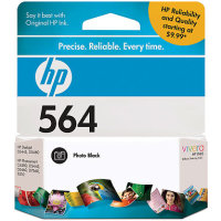 Hewlett Packard HP CB317WN (HP 564 Photo Black) InkJet Cartridge