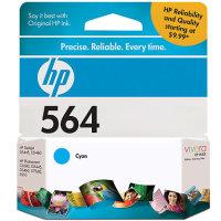 Hewlett Packard HP CB318WN (HP 564 Cyan) InkJet Cartridge