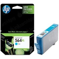 Hewlett Packard HP CB323WN (HP 564XL Cyan) InkJet Cartridge